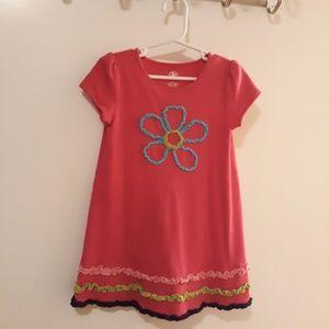Adorable Cotton Dress, Like New, Girls 4T